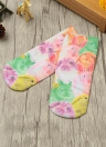 Новая мода Женщины Носки Смазливая мультфильм печати Low Cut голеностопного дышащие носки Эластичный повседневные