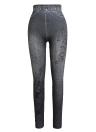Leggings per pantaloni skinny stampati con jeans finti jeans donna