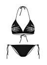 Nuove donne Sexy Bikini Set Cartoon Galaxy animale stampa allacciato dietro il collo due pezzi costumi da bagno costumi da bagno costume da bagno