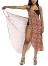 Robe de plage imprimée Couverture de plage Bikini Cover-up