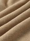 Suéter hecho punto de manga larga con hombros caídos