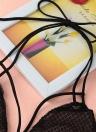 Neue Sexy Frauen Dessous schiere Lace HГ¶hlen Lace rückenfreie Volltonfarbe lässig BH Unterwäsche weiß / schwarz