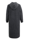 Women Loose Denim Dress Drawstring Hood Casual Jeans Dress Vestidos Plus Size