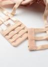 Bandoulières sexy Lace Up Push Up Bracelet réglable rembourré Soutien-gorge pour femme