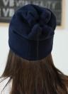 Unisex Fleece Solid Hip-Hop Cool Cap