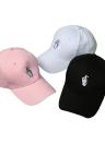 Nuevas mujeres forman a los hombres del casquillo patrón sólido de color del bordado del broche de presión plana de Béisbol Hip-Pop Cap Blanco / Rosa / Negro