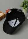 Solid Color Embroidery Pattern Snap Flat Baseball Hip-Pop Cap