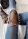 Fishnet Pantyhose Stars Pattern Tights