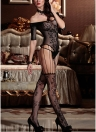 Lingerie Body Stocking Mesh Hollow Out Cutout Erotic Bodysuit