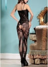 Sheer Mesh Hollow Out Open Crotch Body stocking Nightwear