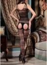 Frauen aushöhlen Fischnetz Dessous Body Stocking Crotchless Bodysuit Nachtwäsche Babydoll