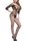Женское Эротическое белье для тела с бельем Чистая прозрачная сетка с сеткой