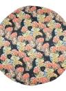 Satin Floral Print Boho Cover Up