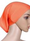 Il nuovo modo Hijab musulmano turbante islamico Bonnet underscarf Cappuccio Interno solido colore del tubo Copricapo Elastic