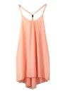 Sexy Backless Sling Strap Back Chiffon Summer Dress