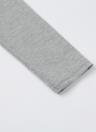 Women T-shirt Polo Neck Long Sleeve Crop Top Blouse
