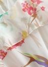 Summer Fresh Floral Print Sleeveless Mini Chiffon Dress