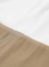 Новые моды женщин шифоновое платье цвета блока 1/2 рукава плюс размер Свободный сдвиг мини-платье