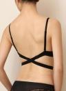Fashion femmes Bra U profond Low Cut Push Up sous-vêtements soutien-gorge soutien-gorge Invisible dos nu