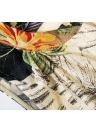 Мода женщин брюки шифон оверлея эластичный пояс стрейч манжеты Капри шаровары штаны черные