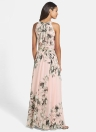 Sexy Women Chiffon Dress Floral Print Party Beach Boho Long Maxi Dress
