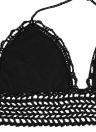 Сексуальные женщины крючком культур Топ спагетти ремень Холтер камзол жилет бикини Bralette черный/белый