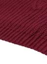 Moda donna maglia maglione V profondo collo contrasto striscia manica lunga Pullover tessuto a maglia