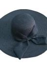 Nueva moda mujer paja sombrero Alón arco plegable sol playa Cap