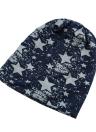 Moda coreana homens mulheres unissex gorro Wrap impressão de hip-hop Star Hat Cap Headwear