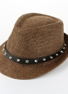 Mode Verre d'été chapeau de chapeau de chapeau chapeau de plage chapeau de paille