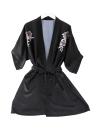 Платье для женщин Robe Pajama Satin Floral Print