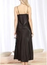 Женское атласное ночное платье Slit Hem Cami