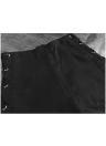 Women Leather Pants Lace Up Bandage Pencil Pants Elastic Slim Trousers