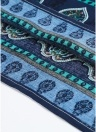 Frauen-Retro- Paisley-lose Kleid-beiläufige Taschen-Kurzschluss-Minikleid