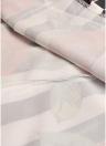 Женская длинная юбка Комплект полосатая флористическая футболка с надписью Раскрашенное платье Две пьесы