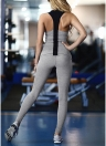 Frauen Trainingsanzug Set Fitness Weste elastische Hosen Set Casual Hosen Outfit