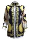Женская рубашка Африканские традиционные шаблоны Дашики Печать с длинными рукавами Повседневные топы