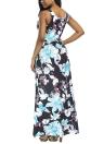Vestido sem mangas Boho Beach com estampa floral