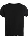 Camiseta estampada con cuello redondo y mangas cortas