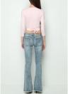 Skinny Denim Jeans Flare Pants Bell Bottom Pants Casual Long Trousers