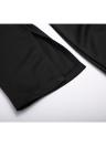 Sólido Quadrado Pescoço Meia Manga Alta Dividir Bodycon Vestido