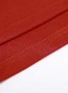 Plus Size Metallic O-Ausschnitt Hülse mit drei Vierteln Solid Slim Long Dress