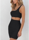 Один плечевой ремень Асимметричный Ruched Skinny Карандаш Bodycon Платье