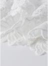 Off-the-Shoulder Lace Floral Crochet Hollow Out Slim Elegant Mini Dress
