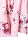 Floral Off l'épaule courte combinaison évasée manches élastique taille Boho vacances Combishort
