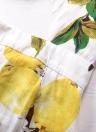 Floral Print Strappy Bandage Backless Sleeveless V-Neck Jumpsuit