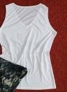 Maglietta smanicata senza maniche con stampa a vita