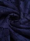 Plus Size Lace Deep V Neck Long Sleeve Bandage Bodycon Midi Dress