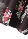 Frauen Blumendruck Cardigan Open Front Maxi Mantel Sommer Boho Long Wear