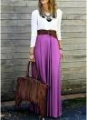 Женщин Хлопок Повседневное платье Maxi Spliced Criss-Cross с длинным рукавом Плиссированное длинное платье